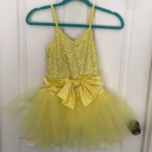 Other - Yellow Ballerina Dance Costume